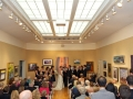 Indoor Ceremony in the Leibig Gallery