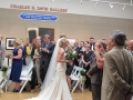 Indoor Ceremony in the Davis Gallery