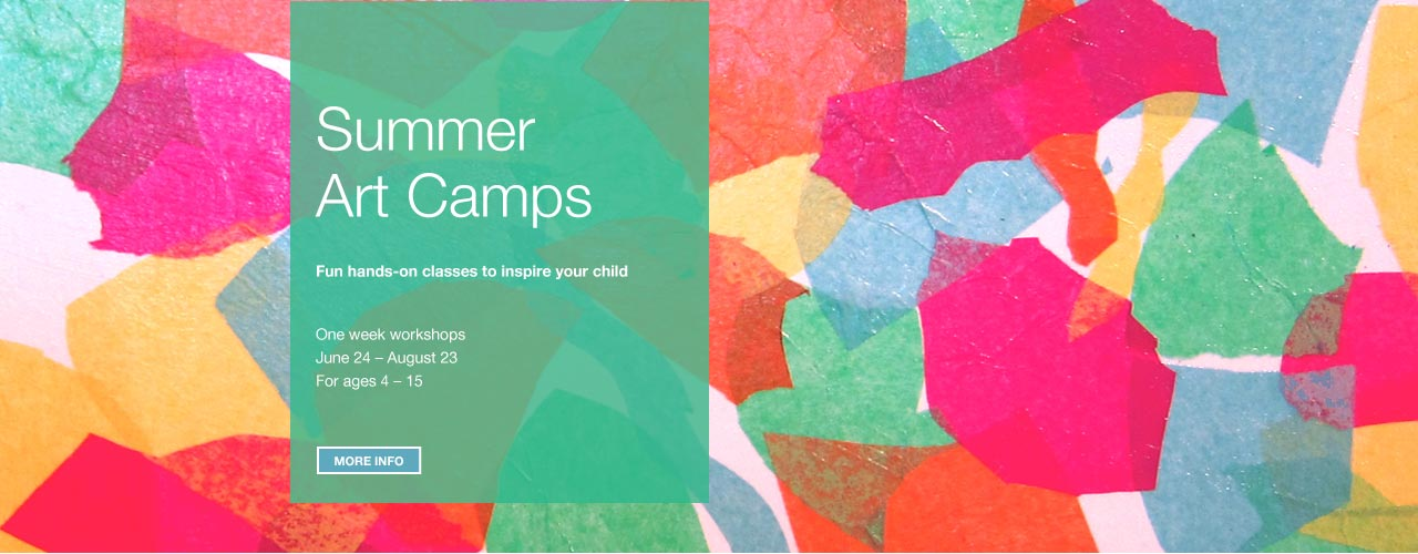 Summer Art Camps Hero