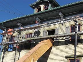 15 Water Street building under renovation